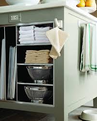 kitchen wall shelves practical items  md  island shelving detail towel vert