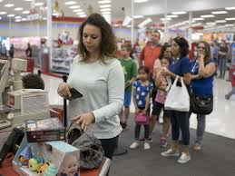 day after christmas returns slow in san antonio san antonio lori hodges returns gifts for her two sons to the super target at loop 1604 and