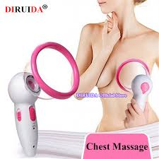 <b>Electric Breast Massager Enhancement Enlargement</b> Chest ...