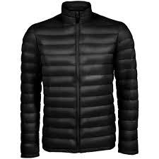 <b>Куртка мужская WILSON</b> MEN черная, размер XL оптом под логотип