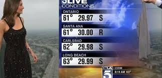 ktla producers shame weather reporter on air crazy days and apparently the producers at ktla decided that meteorologist liberte chan needed some shaming on saturday while liberte was doing the weather report
