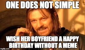 Happy Birthday Meme For Boyfriend - happy birthday meme for ... via Relatably.com