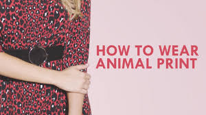 How To <b>Style Animal Print</b> Clothes: 3 Top Tips | Autumn Trends ...