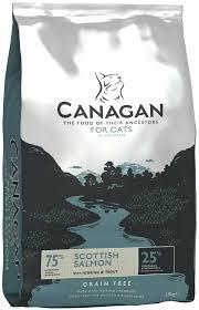 <b>Сухой корм</b> для кошек <b>Canagan</b> беззерновой, с лососем, с ...