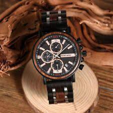 bobo bird watches men new arrivals bamboo wooden show date wrist watch quartz male gift in wood box erkek kol saati