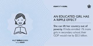 Infographic: An Educated <b>Girl Has</b> A Ripple Effect | U.S. Agency for ...