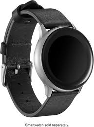 Platinum™ <b>Leather Band for Samsung</b> Galaxy Watch Active and ...