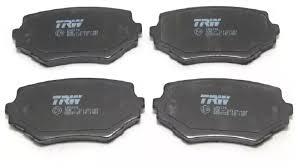 Дисковые <b>тормозные колодки передние</b> TRW GDB3132 для ...