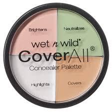 <b>Wet n Wild</b> Набор Корректоров Для Лица (4 Тона) Coverall ...