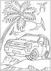 Раскраски для детей 6 лет машины