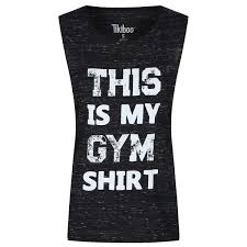 This Is <b>My Gym Shirt</b> Scoop Muscle Tank | Tikiboo
