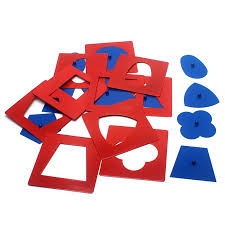 <b>Baby Toys Montessori Materials</b> Professional Quality Metal Insets ...