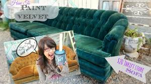 How to Paint <b>Upholstery</b>, keep it soft, and velvety! No cracking or ...