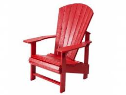 Recycled Plastic Adirondack Chair  Upright