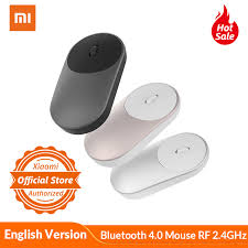 Global Version Xiaomi <b>Portable Wireless Mouse</b> Optical Bluetooth ...