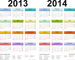 2013 2014 calendar printable two year word calendars template 1 word template for two year calendar 2013 2014 landscape orientation