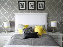 yellow and gray bedroom: grey and yellow bedroom interior trendy color scheme for your home throughout grey yellow bedroom