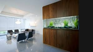 view in gallery wall aquarium with modern style aquarium office