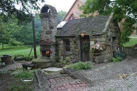 cool outdoor patio ideas rustic indoor outdoor fireplace patio and garden shed re purposed barn stone