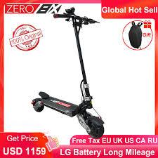 <b>Newest</b> Zero 8X <b>Mini electric scooter</b> dual motor 52V1600W off road ...
