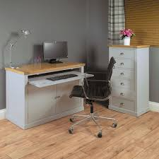 nara solid oak hidden home office home office hideaway bedford grey painted oak furniture hideaway office aston solid oak hidden