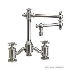 country kitchen column spout:   wtr   waterstone towson bridge faucetjpeg
