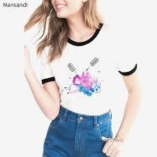 <b>ropa mujer 2019</b> Luxury pink nail polish tshirt women <b>vogue</b> ...