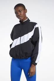 <b>Куртка женская</b> Reebok <b>Wor</b> Myt <b>Woven</b> Jacke, цвет: черный ...