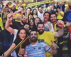 Ünlüler Fenerbahçe maçında