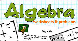 Math Worksheets and Problems - free printable high school math ...Algebra Worksheets & Problems