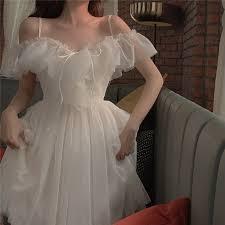 קנו שמלות | <b>Sannian</b> Actual Photo Of Long Sling Dress With Lace ...
