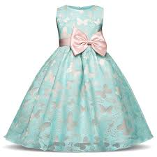 Fancy Butterfly Kids Girl Wedding Flower <b>Girls Dress Princess Party</b> ...