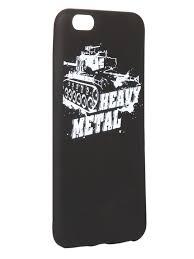 <b>Чехол Krutoff для</b> APPLE iPhone 6 6S Plus Blitz Heavy Metal 3 ...