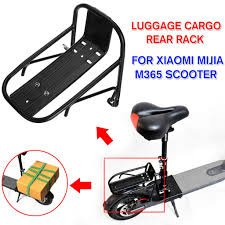 DIY Rear Cargo Rack For Xiaomi Mijia M365 <b>Scooter Electric</b> ...