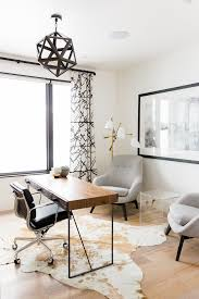 home decorating ideas home office in modern rustic style with geometric light pendant upholstered ceiling lighting fixtures home office browse