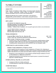 current college student resume is designed for fresh graduate current college student resume is designed for fresh graduate student who want to get a job
