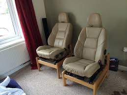 Comfy Floor Seating Home Made Car Seat Chairs So Comfy Creative Uses For Car Parts