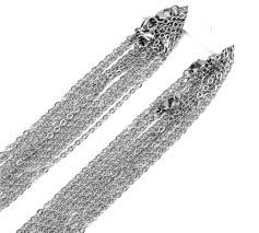 <b>Stainless Steel Chains</b> 2mm <b>Finished Stainless Steel Chains</b>