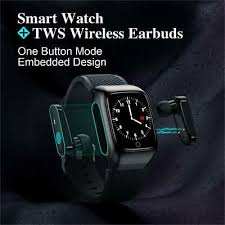 <b>S300</b> Smart Watch TWS Men Earbuds With <b>Bluetooth Earphones</b> ...