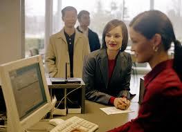 comparing money orders bank checks and cashiers checks bank teller