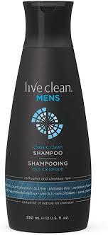 Live <b>Clean Men's Classic Clean</b> Shampoo, 350 mL: Amazon.ca ...