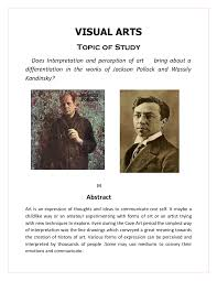 extended essay visual arts
