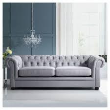 chesterfield linen medium sofa silver chesterfield furniture history