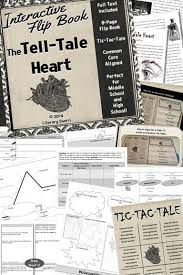 images about tell tale heart on pinterest  student task  tell tale heart by edgar allan poe interactive flipbook