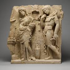 ancient greek colonization and trade and their influence on greek limestone funerary relief