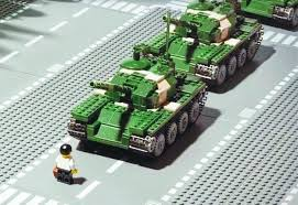Remembering Tiananmen Square in Legos, Photos and Memes | Big Think via Relatably.com