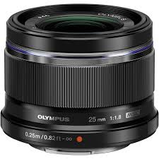 <b>Объектив Olympus M.Zuiko Digital</b> 25mm f/1.8, черный ( купить в ...