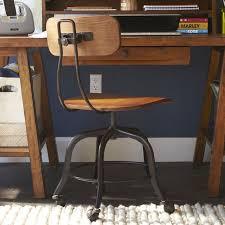 vintage wood swivel chair pbteen antique wooden desk chair