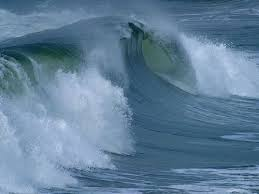 Ocean Movements   CK    Foundation Ocean waves transfer energy through the water over great distances