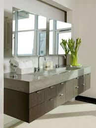 bathroom refresh: bathroom the modern bathroom vanity floating modern bathroom vanity with poured concrete countertop and
